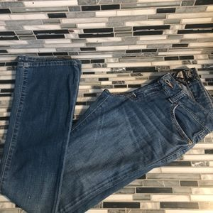 lucky brand women straight leg jean